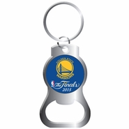 Golden State Warriors Aminco The Finals Bottle Opener Key Ring