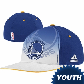 Golden State Warriors adidas Youth Authentic 2011 NBA Draft Day Flex Hat - Click to enlarge