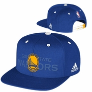 Golden State Warriors Authentic adidas Snapback Draft Cap - Royal