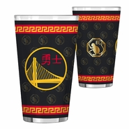 Golden State Warriors Boelter Chinese Heritage 16 oz. Sublimated Pint Glass