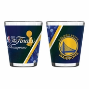 Golden State Warriors Boelter Finals Champs 2 oz. Sublimated Shot Glass - Will Ship 7/8