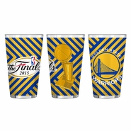 Golden State Warriors Boelter The Finals Sublimated Pint Glass 16oz. - Will Ship 6/9