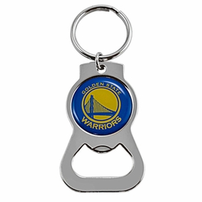 Golden State Warriors Bottle Opener Key Ring - Click to enlarge