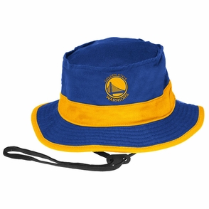 Golden State Warriors Bucket Cap - Blue/Gold - Click to enlarge