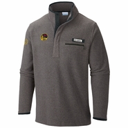 Golden State Warriors Columbia Men's Chinese Heritage Harborside Fleece Pullover - Grey