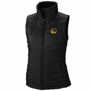 Golden State Warriors Columbia Women's Chinese Heritage Mighty Lite Vest - Black