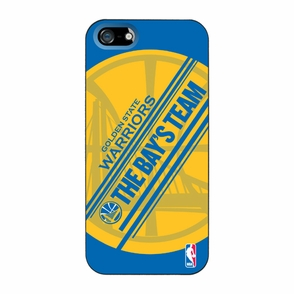 Golden State Warriors Coveroo The Bay's Team iPhone 5 Cover - Royal/Gold - Click to enlarge