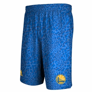 Golden State Warriors Crazy Light Adidas Shorts-Royal - Click to enlarge