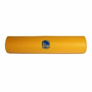 Golden State Warriors Embroidered Yoga Mat - Gold