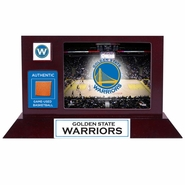 Golden State Warriors Fanatics Authentic Desktop Display with Team-Used Basketball