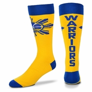 Golden State Warriors Filipino Heritage Highwire Socks - Royal/Gold
