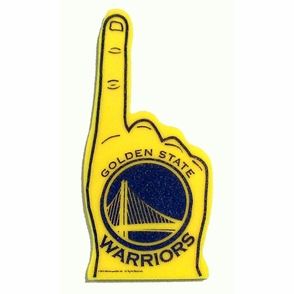 Golden State Warriors Foam Finger - Click to enlarge