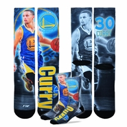 Golden State Warriors For Bare Feet Adult Stephen Curry Drive Socks