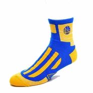 Golden State Warriors For Bare Feet Partial Logo Clash Sock � Royal