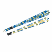 Golden State Warriors Ground Lanyard - Blue/White