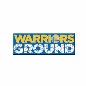 Golden State Warriors Ground Pin - Click to enlarge