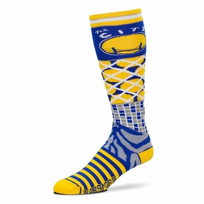 Golden State Warriors Hardwood Classic Smack Socks - Multi Colored - Click to enlarge