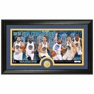 Golden State Warriors Highland Mint 2015 NBA Finals Champions Panoramic Minted Coin Photo Mint