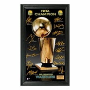 Golden State Warriors Highland Mint 2015 NBA Finals Champions Trophy Signature Photo