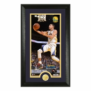 Golden State Warriors Highland Mint Framed Stephen Curry Photo with Bronze Coin