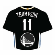 Golden State Warriors Klay Thompson Jersey Pin - Slate
