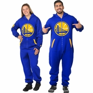 Golden State Warriors Klew Adult One-Piece NBA Sport Suit � Royal