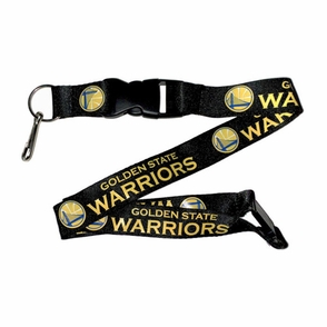 Golden State Warriors Lanyard - Black - Click to enlarge