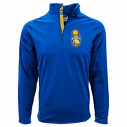 Golden State Warriors Levelwear Finals Champs Quarter Zip Jacket - Royal - Will Ship 7/8