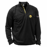 Golden State Warriors Levelwear The Finals Performance Quarter Zip Pullover - Black