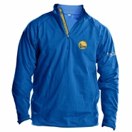 Golden State Warriors Levelwear The Finals Performance Quarter Zip Pullover - Royal - Will Ship 6/9