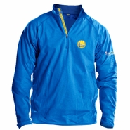 Golden State Warriors Levelwear The Finals Performance Quarter Zip Pullover - Royal