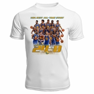 Golden State Warriors Levelwear �The Streak� Short Sleeve Performance Tee - White