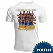 Golden State Warriors Levelwear Youth �The Streak� Short Sleeve Performance Tee - White
