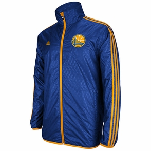 Golden State Warriors Lightweight Adidas Jacket-Royal - Click to enlarge