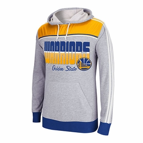 Golden State Warriors adidas Lightweight Pullover-Grey - Click to enlarge