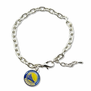Golden State Warriors Logo Bracelet - Click to enlarge