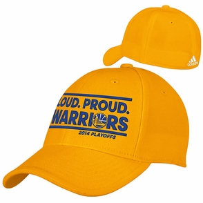 Golden State Warriors Loud Proud Flex Fit Playoff Cap - Gold - Click to enlarge