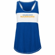 Golden State Warriors Majestic Women�s Out Win Tank - Deep Royal