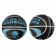 Golden State Warriors Mini Spalding Neon Basketball - Neon
