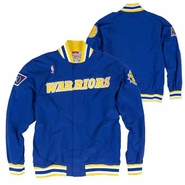 Golden State Warriors Mitchell & Ness 1996 � 97 Authentic Warm Up Jacket � Royal