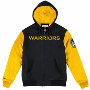 Golden State Warriors Mitchell & Ness Skill Position Jacket � Black