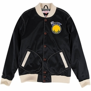 Golden State Warriors Mitchell & Ness �The City� Hometown Champs Satin Jacket � Black