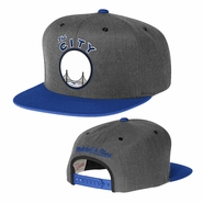 "Golden State Warriors Mitchell & Ness ""The City"" Slate 2-Tone Snapback"