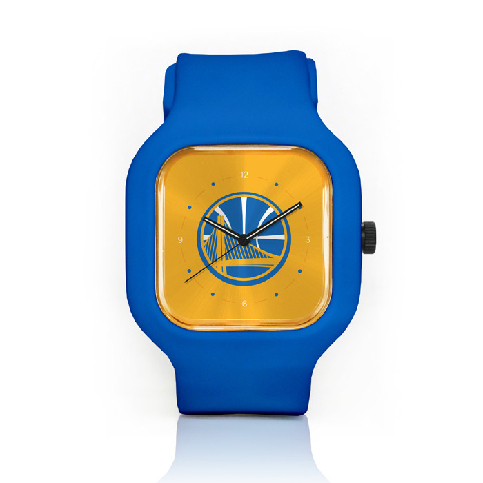 Golden State Warriors Modify Watch Partial Logo – Royal Strap