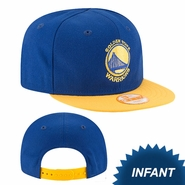 Golden State Warriors New Era My First 9FIFTY Infant Snapback Cap - Royal/Gold