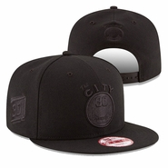 Golden State Warriors New Era Stephen Curry #30 Back to Back MVP Hardwood Classics 9FIFTY Tonal Snapback - Black