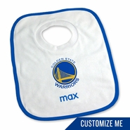 Golden State Warriors Personalized Bib by Chad & Jake