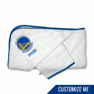 Golden State Warriors Personalized Hooded Towel Set by Chad & Jake