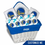 Golden State Warriors Personalized Large Gift Basket by Chad & Jake