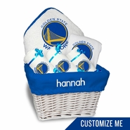 Golden State Warriors Personalized Medium Gift Basket by Chad & Jake